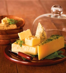 Artisanal Cheeses with Dome
