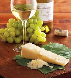 Sartori® BellaVitano Gold® Cheese and Harry & David 2014 Chardonnay