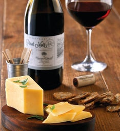 Beehive Cheese Co. Promontory Cheese and Harry & David™ Reserve Pinot Noir