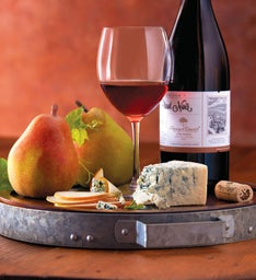 Royal Riviera® Pears, St. Pete's Select Blue Cheese, and Harry & David™ Pinot Noir