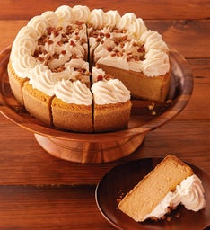 The Cheesecake Factory® Pumpkin Cheesecake - Restaurant Size