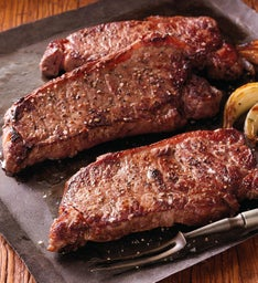 Stock Yards® New York Strip Steaks – Four 8-Ounce USDA Choice