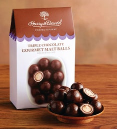 Triple Chocolate Gourmet Malt Balls