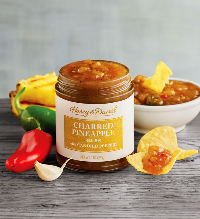 Charred Pineapple Relish