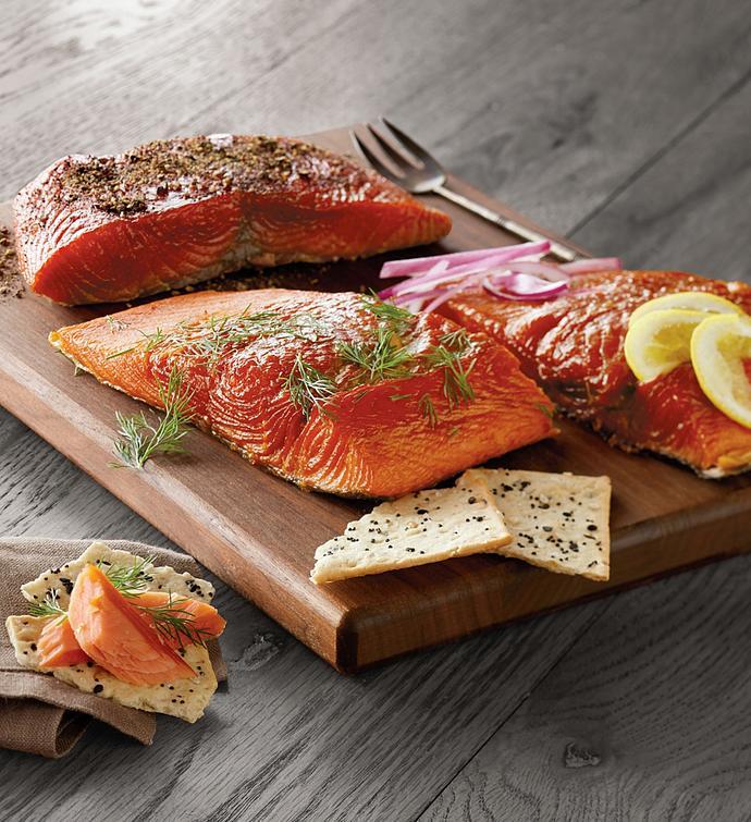 Wild Alaskan Smoked Salmon Trio