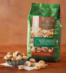 Roasted Salted Pistachios (12 oz)
