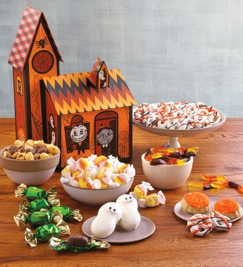 Classic Haunted House Gift Tower