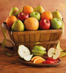 6-Month Organic Gift Basket Fruit-of-the-Month Club® Collection (Begins in December)