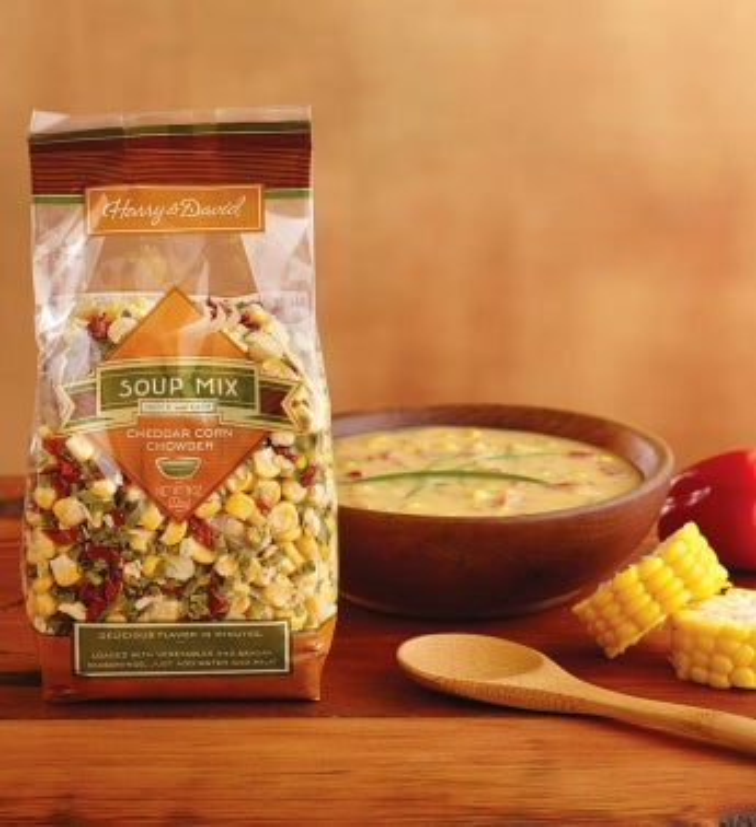 Cheddar Corn Chowder Soup Mix by Harry & David