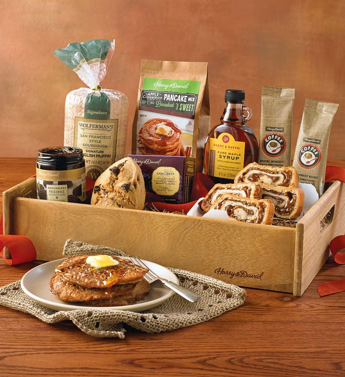 brunch gift basket breakfast gift baskets harry david