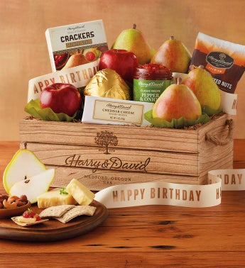 Birthday Gift Basket by Harry & David