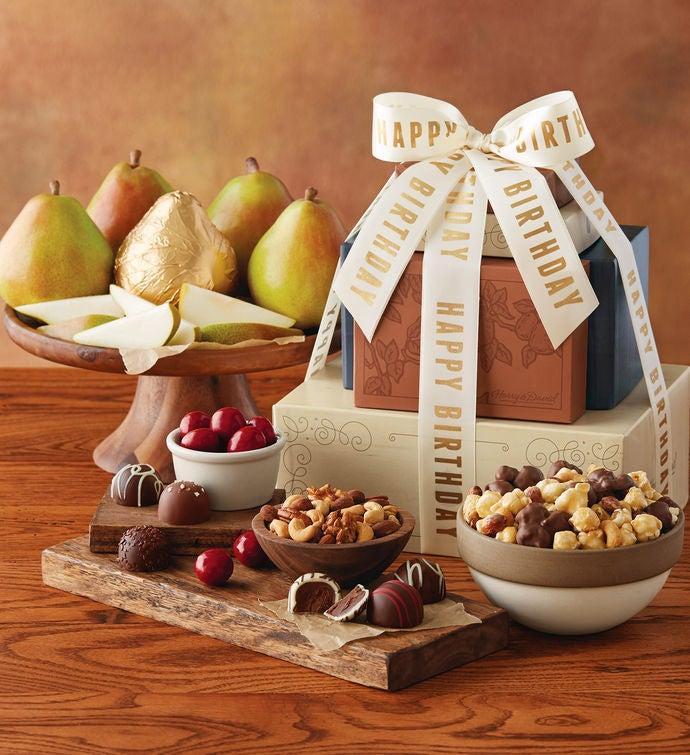 Harry And David Birthday Gift Baskets : Birthday gift tower towers harry david