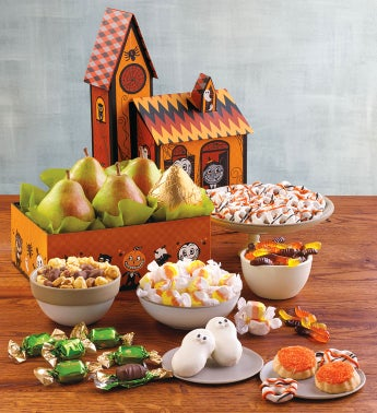 Deluxe Haunted House Gift Tower