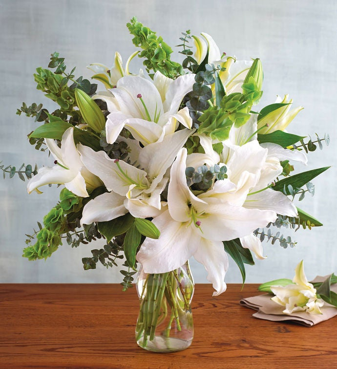White Lily Bouquet | Flowers Delivery | Harry & David