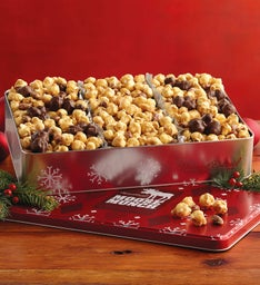 Holiday Moose Munch® Gourmet Popcorn Tin Trio