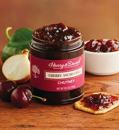 Cherry and Ancho Chili Chutney