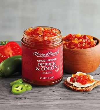 Pepper and Onion Relish with Ghost Pepper