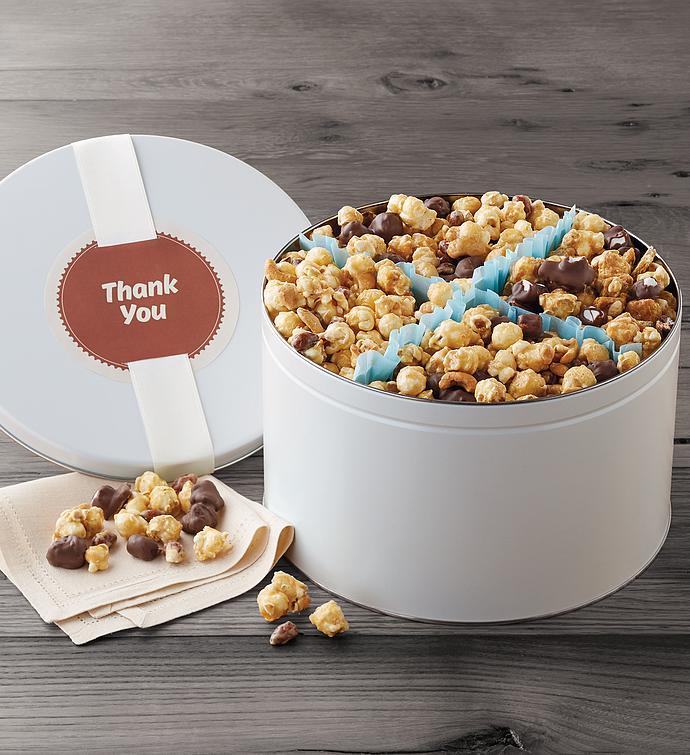 Thank You Moose Munch Premium Popcorn Tin