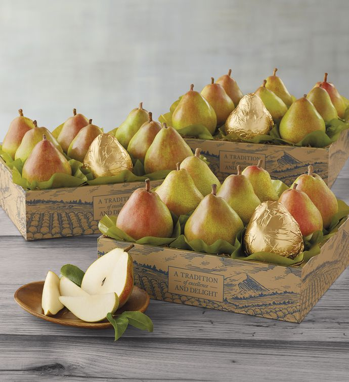 Three Boxes of The Favorite Royal Riviera Pears