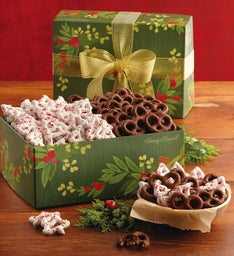 Holiday Covered Pretzels