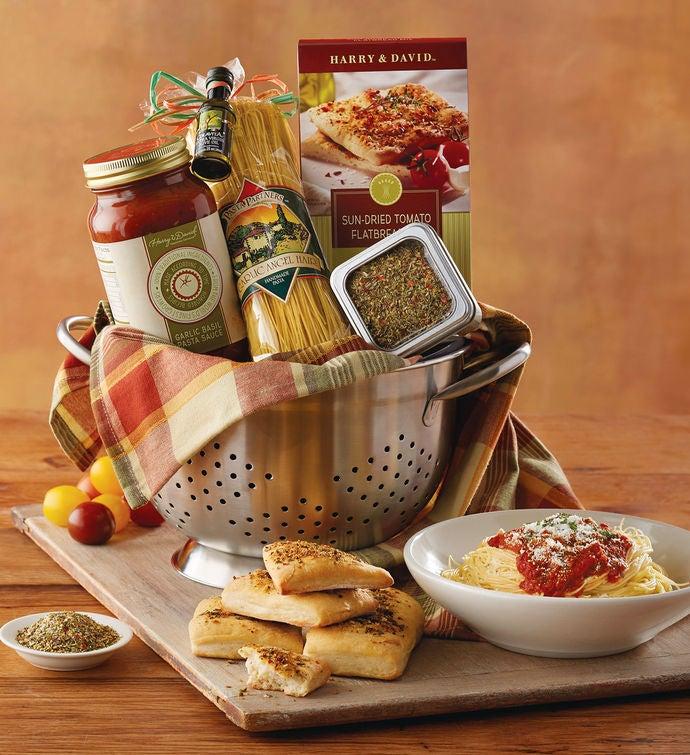 Italian Gift Basket with Wine | Italian Wine Baskets | Harry and David