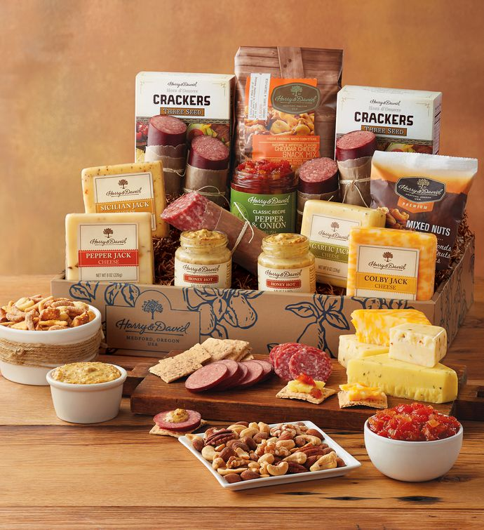 Ultimate Meat and Cheese Gift Box snipeImage : cheese plate gift set - pezcame.com