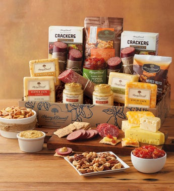 Ultimate Meat and Cheese Gift Box at Harry & David