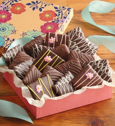 Mother's Day Chocolate-Covered Graham Crackers