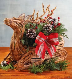 Woodland Deer Centerpiece