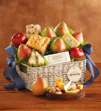 Deluxe Sympathy Gift Basket by Harry & David