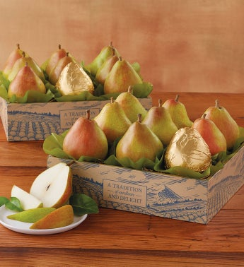 2-Boxes Harry & David's Favorite Royal Riviera Pear