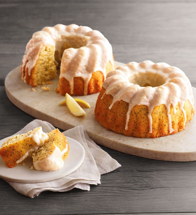 Wolfermans Lemon Poppyseed Bundt Cake Duo