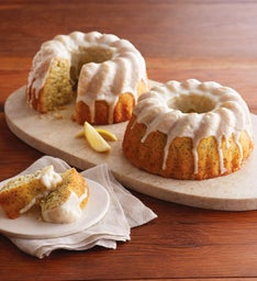 Lemon Poppyseed Bundt Cake Duo