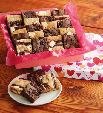 Valentine's Day Brownie Bars