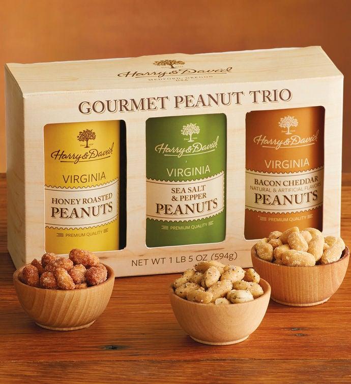 Gourmet Peanut Trio