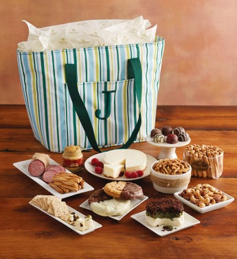 Personalized Gourmet Picnic Tote
