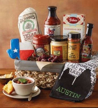 Austin-Inspired Gift Basket