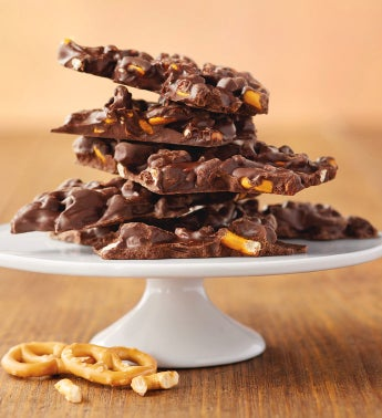 Pretzel Dark Chocolate Waves