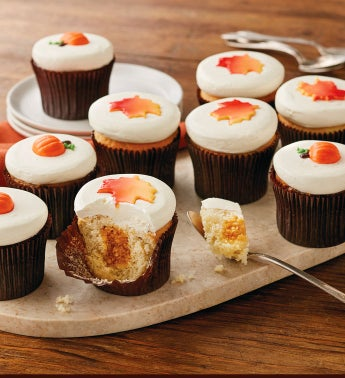 more® Harvest Cupcakes
