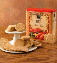 Moravian Pumpkin Cookie Tin
