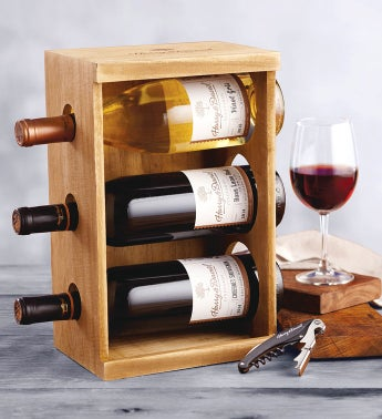 Rustic Wine Rack