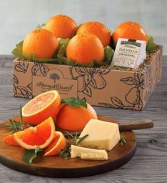 Cara Cara Oranges and TouVelle Cheese