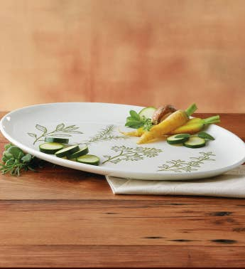 Herb Serving Plate