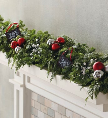 Joy Chalkboard Garland