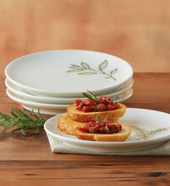 Ceramic Herb Plates