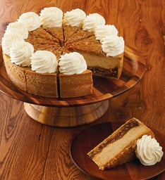 The Cheesecake Factory® Pumpkin Pecan Cheesecake - Restaurant Size