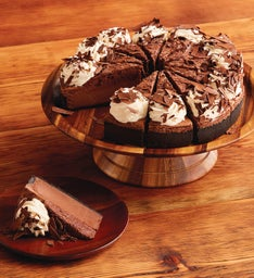 The Cheesecake Factory® Chocolate Mousse Cheesecake - Restaurant Size