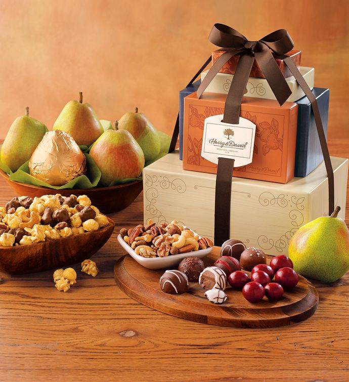 Signature Tower of Treats Gift | Gourmet Food Gifts | Harry & David