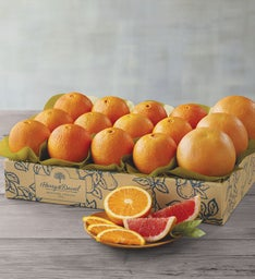 Navel Oranges and Grapefruit - One Tray