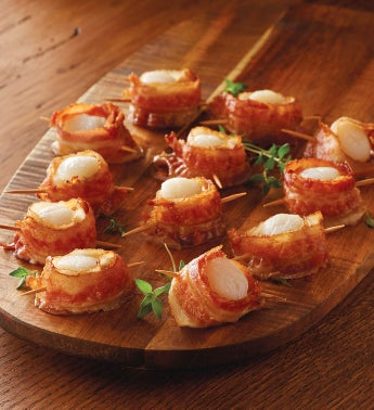 Stock Yards® Bacon Wrapped Scallops
